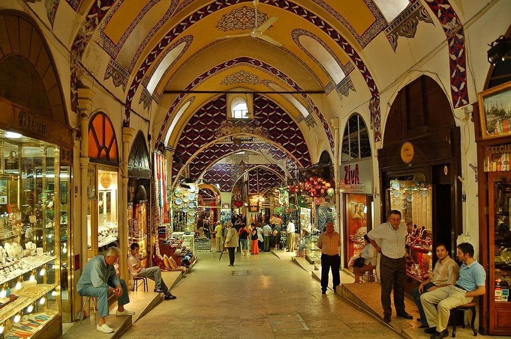 مراکز خرید و بازارها در منطقه سلطان احمد استانبول