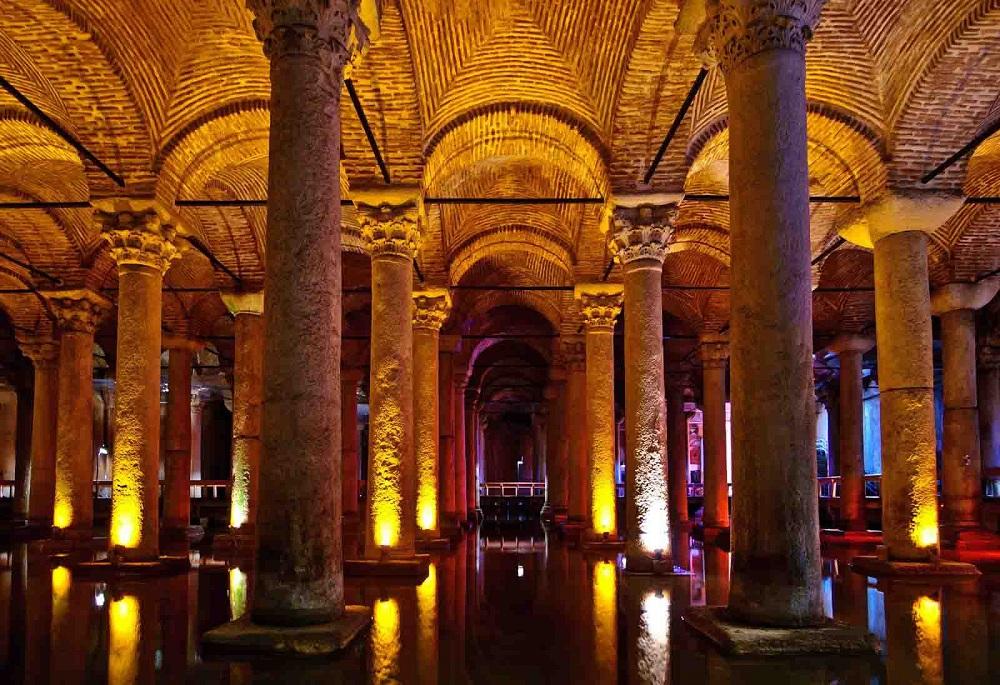 آب انبار قصر سلطنتی استانبول