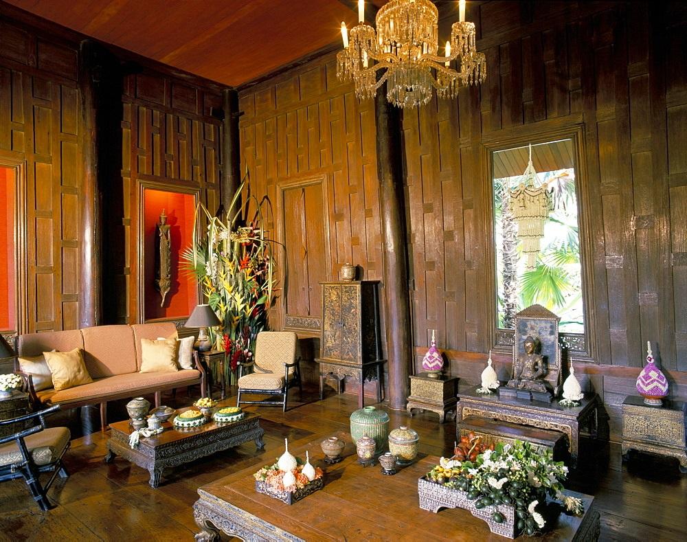 دکوراسیون داخلی جالب خانه جیم تامپسون بانکوک