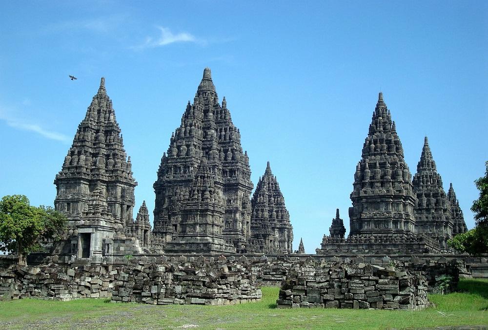 معبد پرامبانن در جاوا مرکزی اندونزی