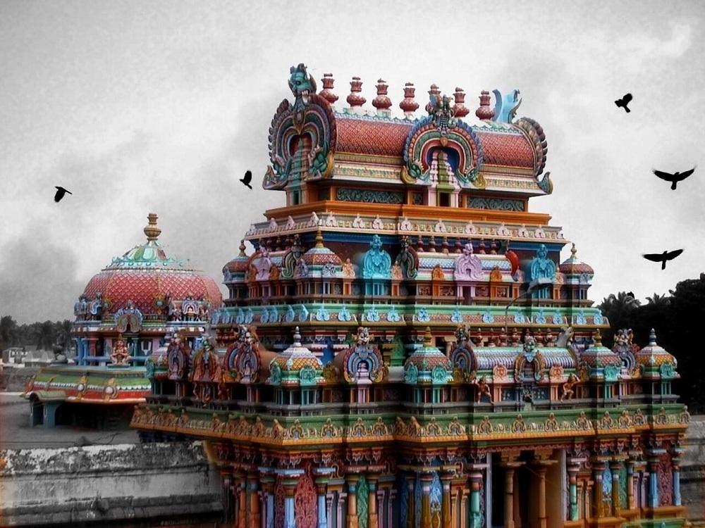 معبد نشری رنگاناتاسوامی در سریرنگام هندوستان