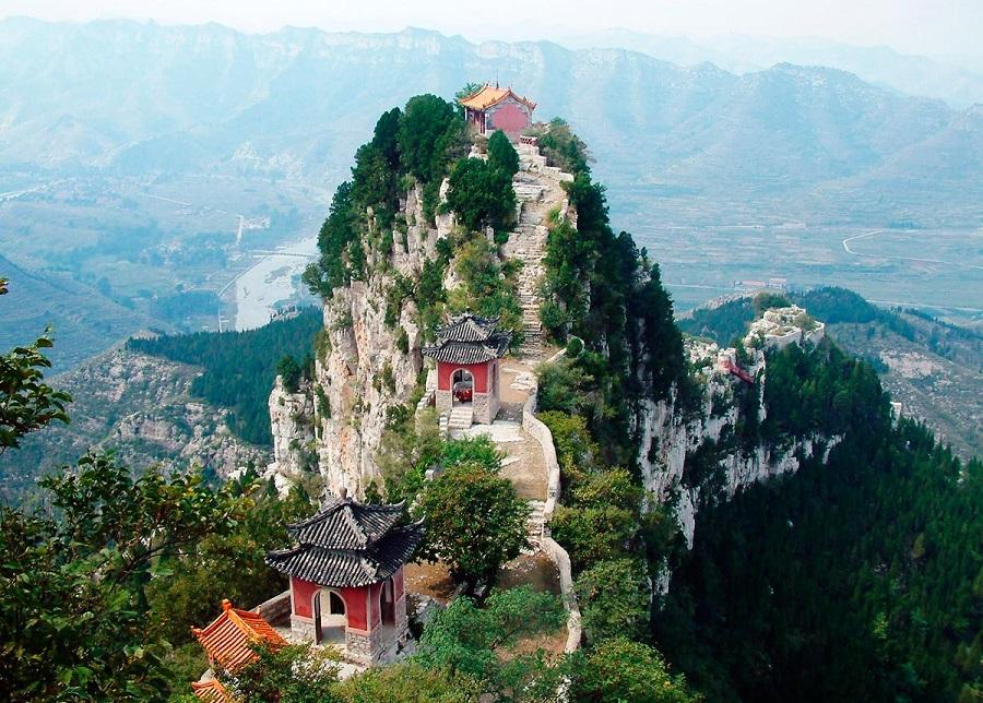 کوه تای شان چین
