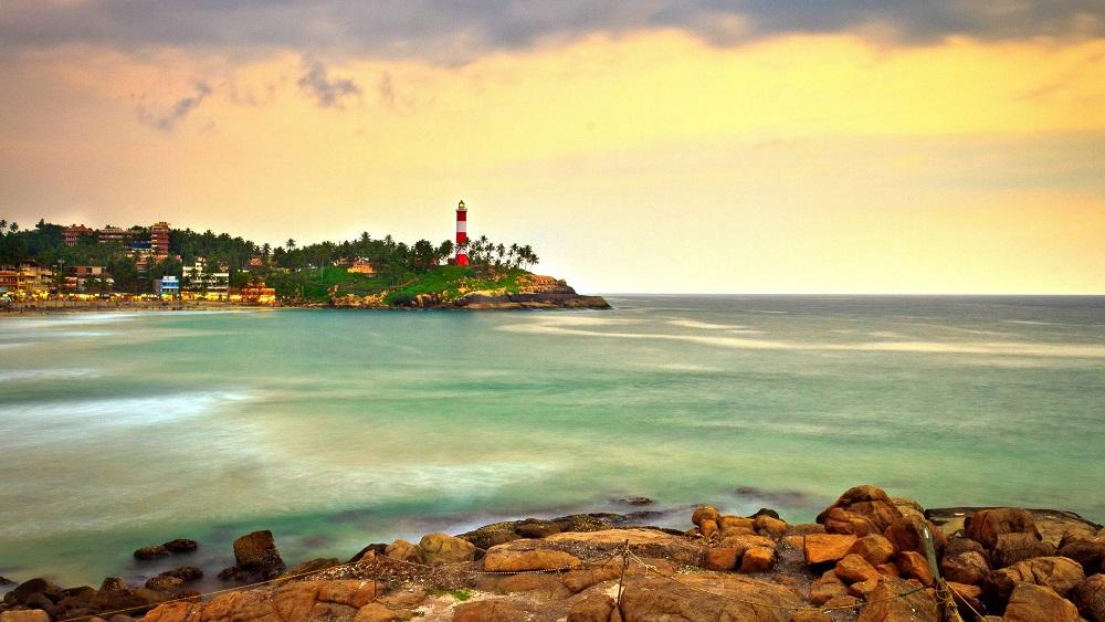 ساحل کووالام هند