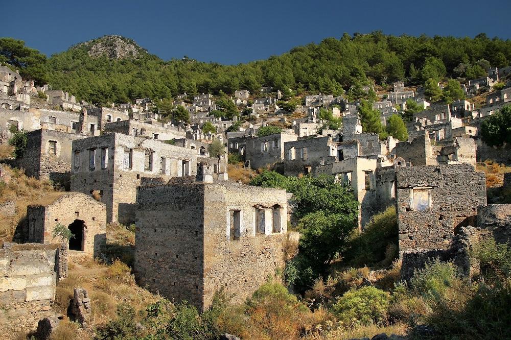 تاریخچه شهر یونانی کایاکوی