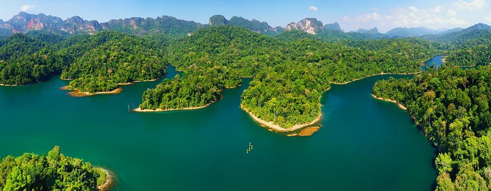 تایلند یکی از اکوسیستم های متنوع در جهان است