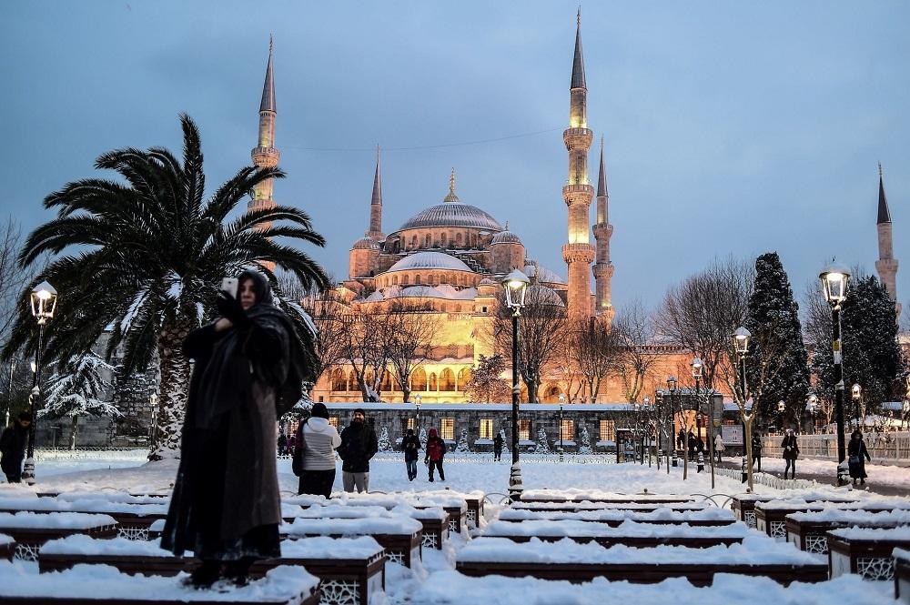 ترکیه در زمستان کمتر شلوغ است
