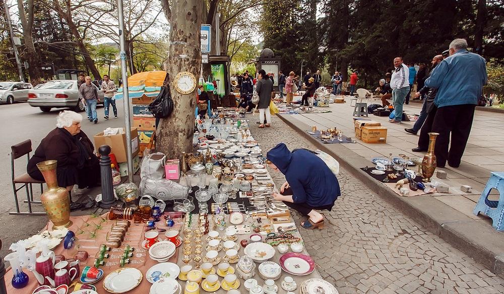 بازار درای بریج مارکت تفلیس گرجستان