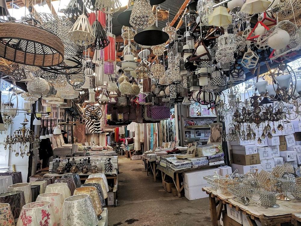 بازار بزرگ لیلو تفلیس گرجستان