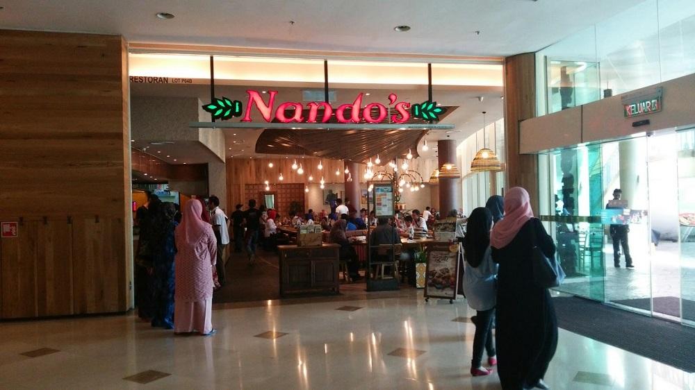 خدمات رفاهی و رستوران های مرکز خرید آلاماندا پوتراجایا مالزی