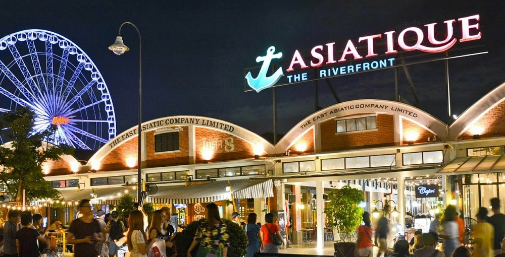 بازار شبانه آسیاتک بانکوک