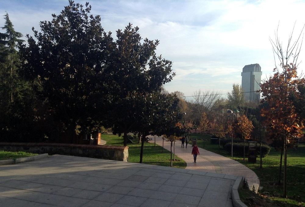پارک دموکراسی پاکا استانبول