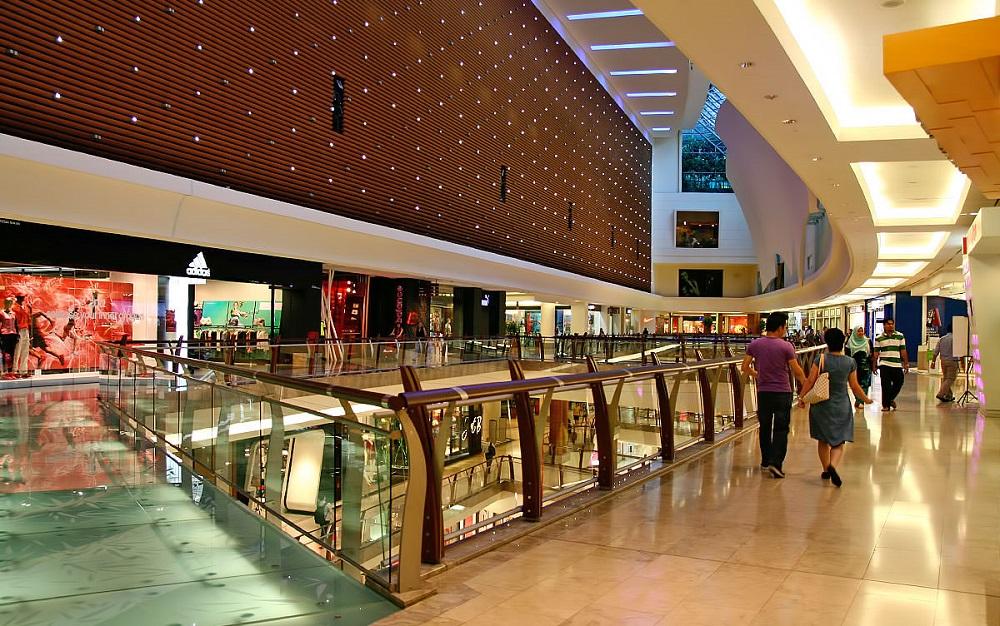خدمات رفاهی مرکز خرید گاردن کوالالامپور مالزی