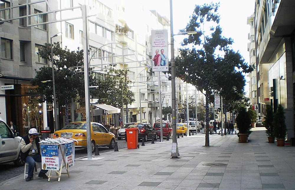 خیابان آبدی ایپکچی استانبول