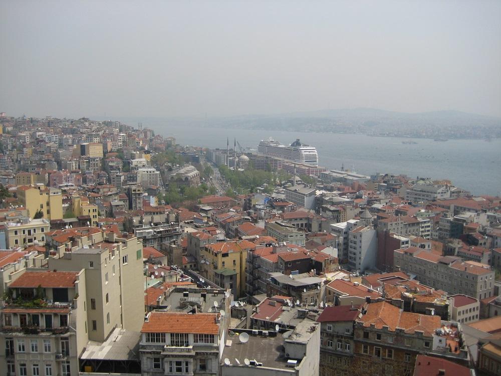 چای خوردن در منطقه سیهانگیر استانبول