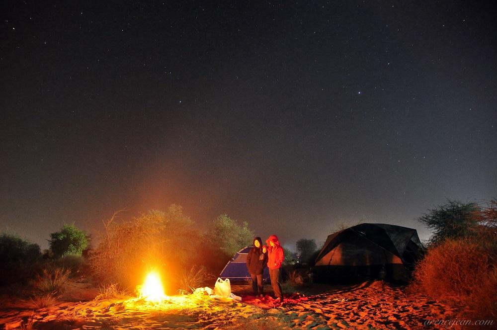 زمستان در دبی فصلی برای کمپینگ است