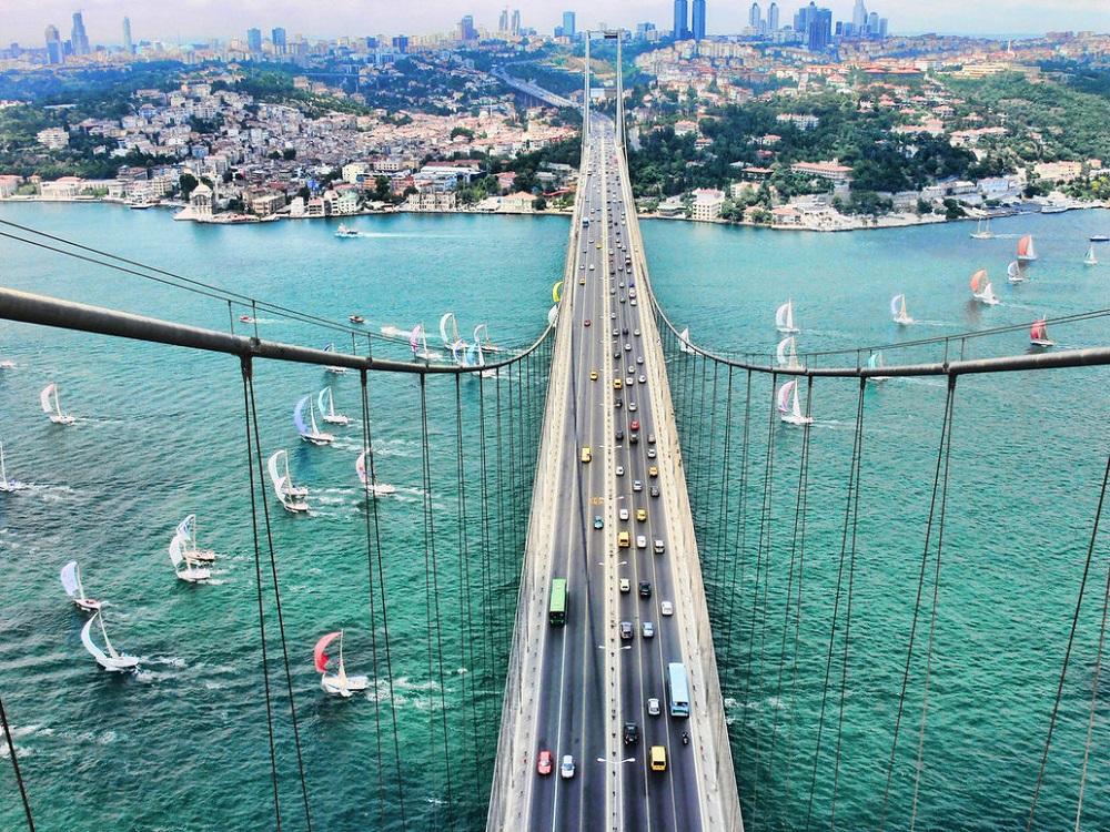 تنگه بسفر، نقطه اتصال اروپا و آسیای استانبول