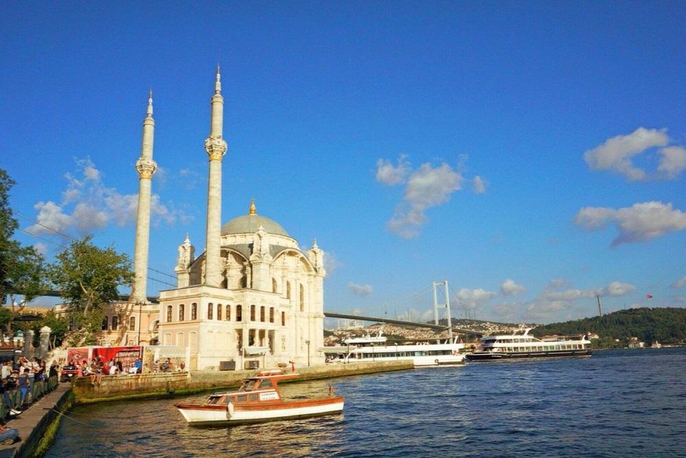 مساجد تاریخی تنگه بسفر استانبول