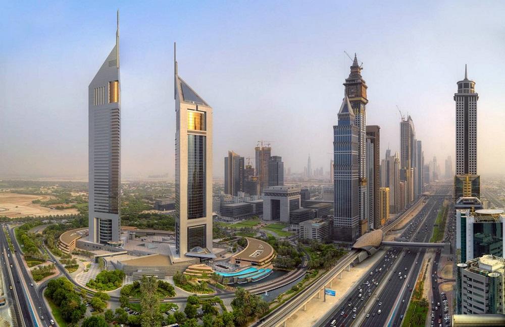 برج های امارات دبی