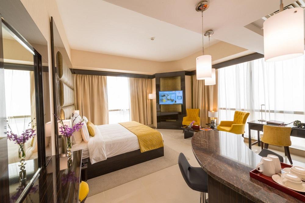 اتاق های هتل جوورا دبی