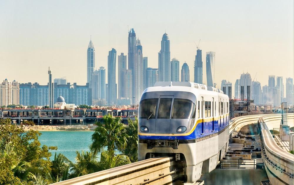 مسیرهای دسترسی مونوریل دبی