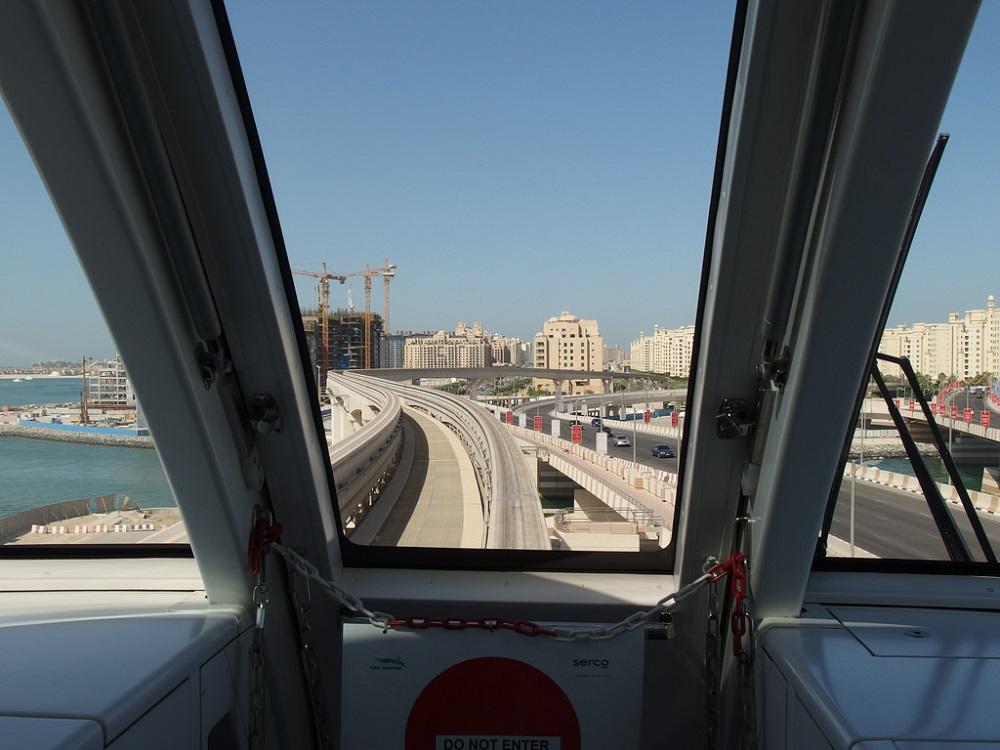 گنجایش و سرعت مونوریل در دبی