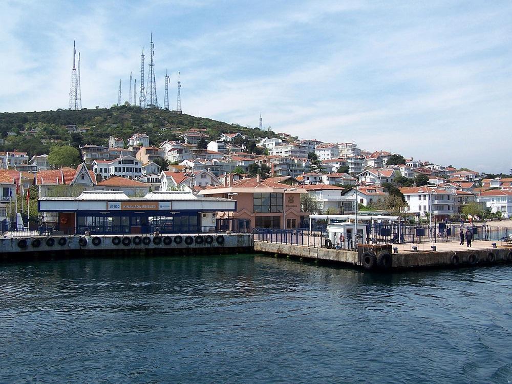 درباره جزیره کینالیدا استانبول