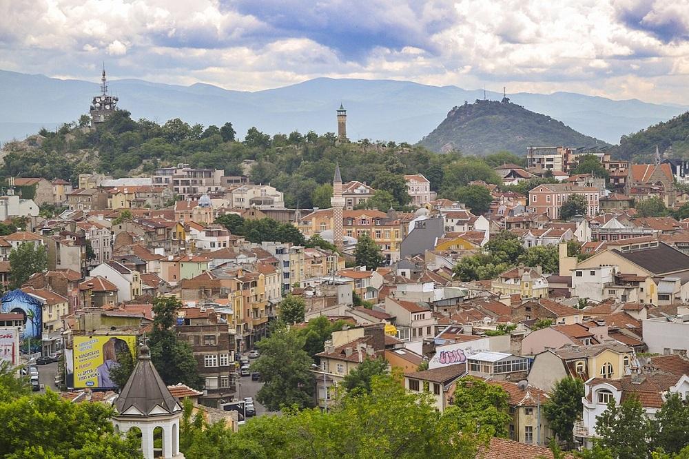 شهر پلوودیو در بلغارستان