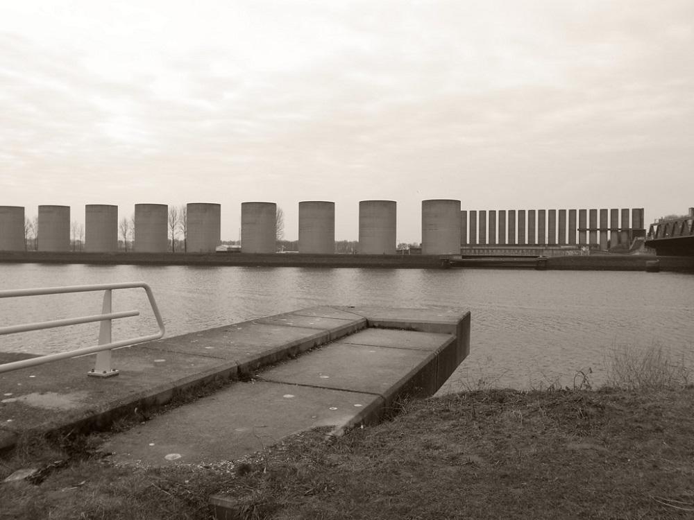 دیوار باد در هلند