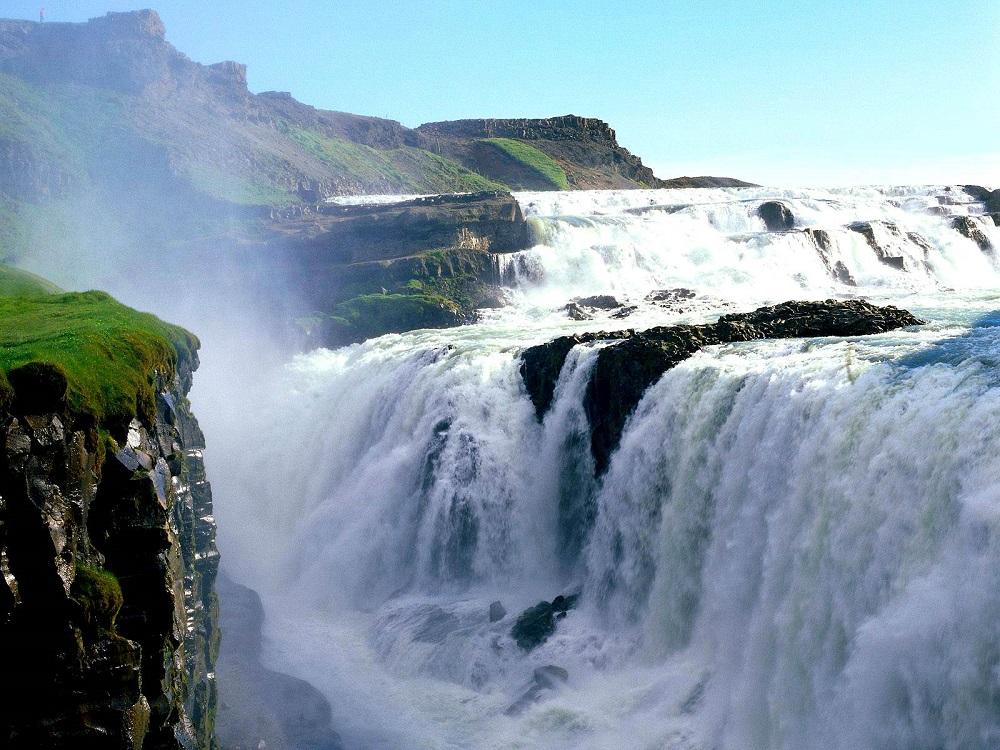 آبشار گولفوس ایسلند