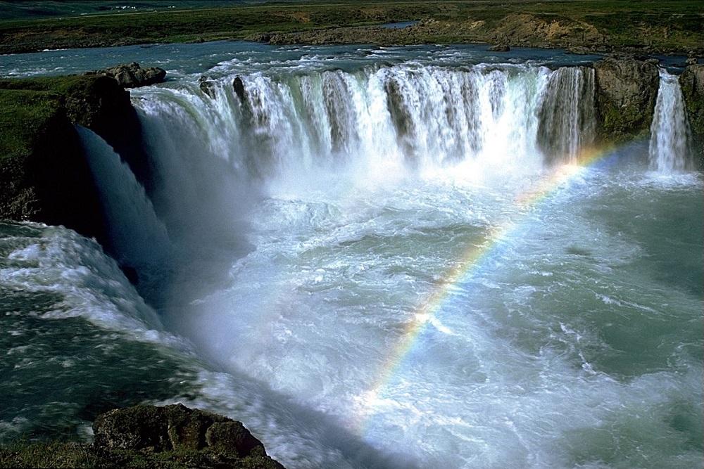 آبشار گودافوس ایسلند