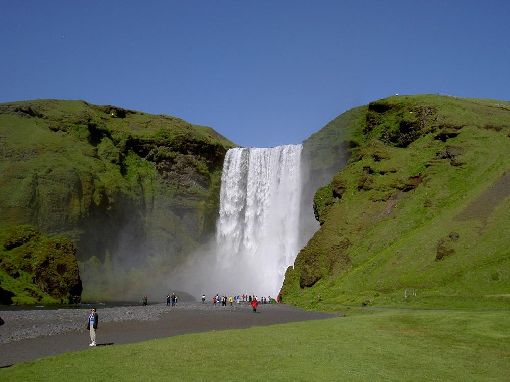 آبشار اسکگوافوس ایسلند