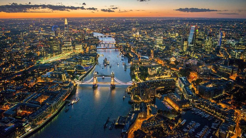شهر لندن در انگلستان