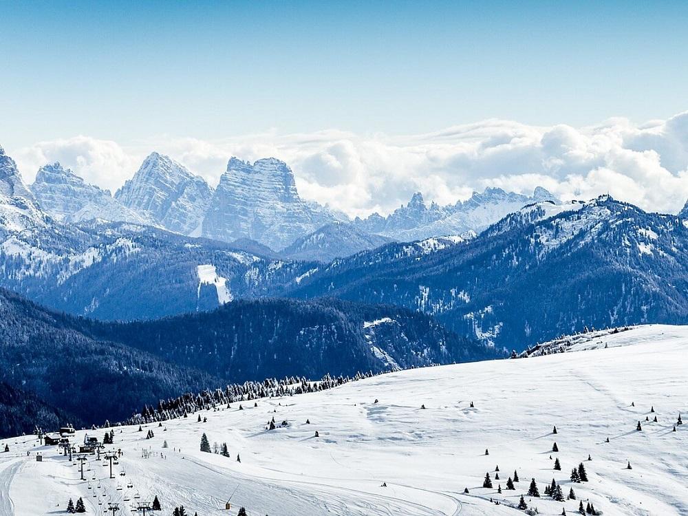 بهترین پیست اسکی شمال غرب ایتالیا