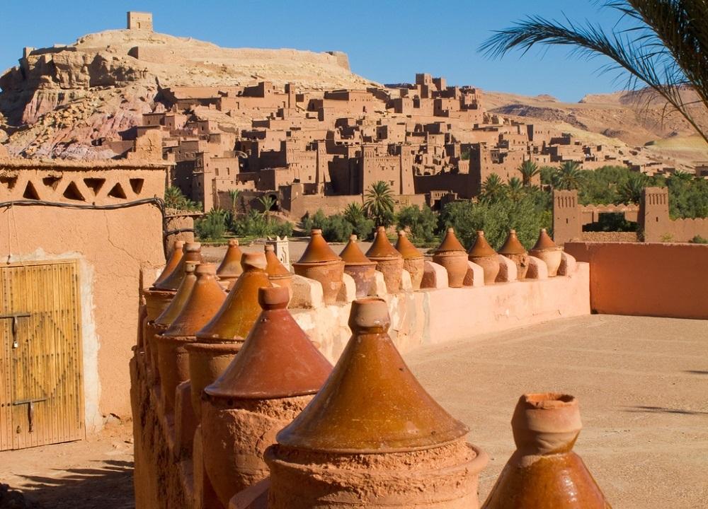 بازسازی قصر ایت بن حدو در مراکش