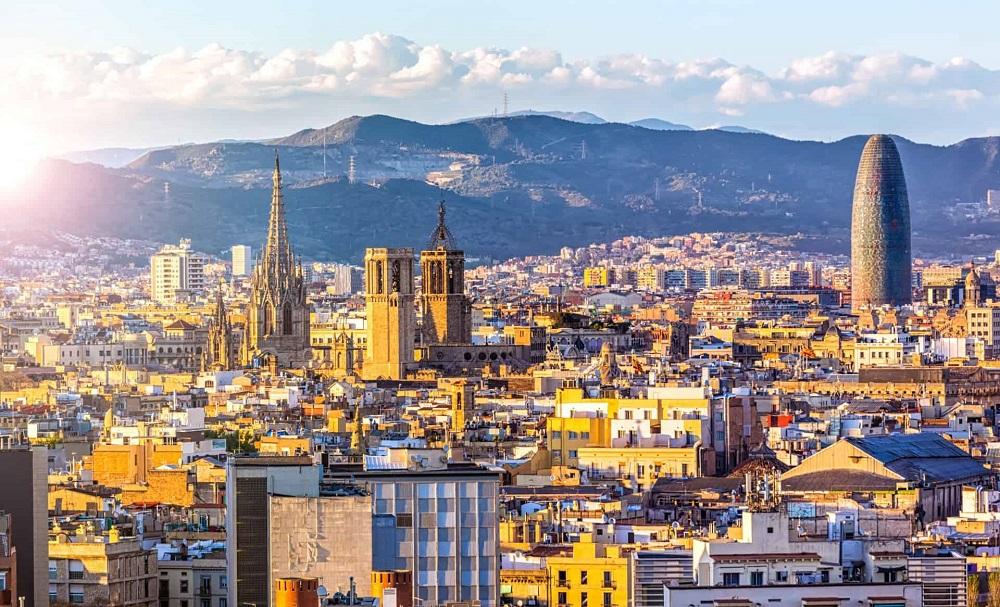 آب و هوای بارسلونا