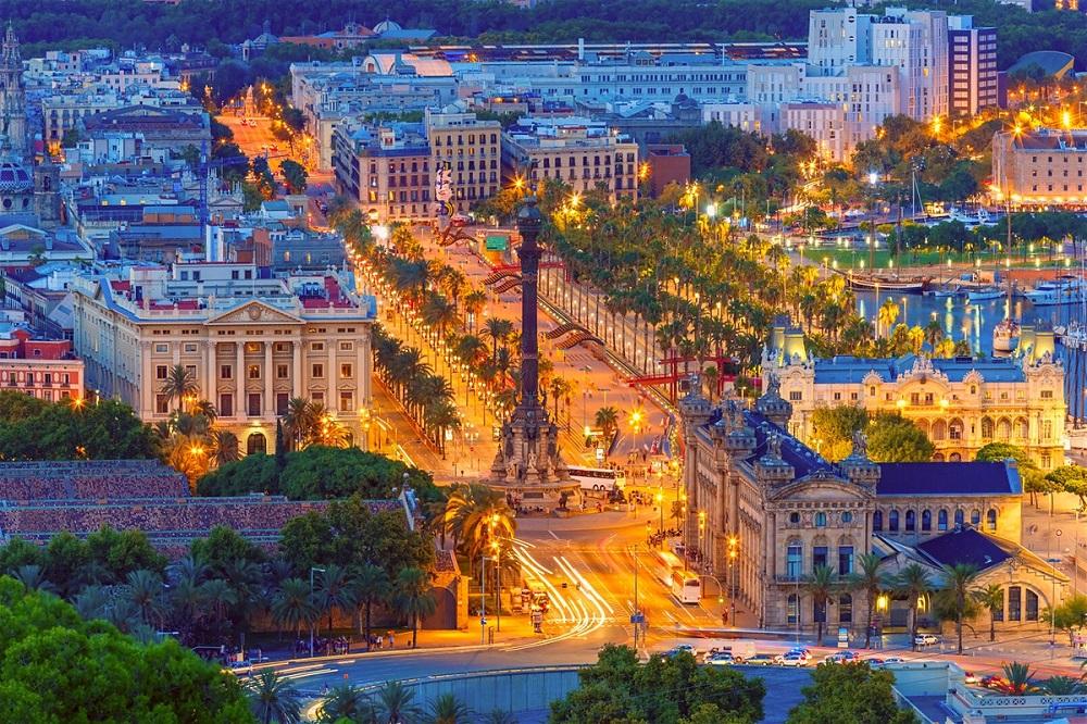 مساحت و جمعیت شهر بارسلونا