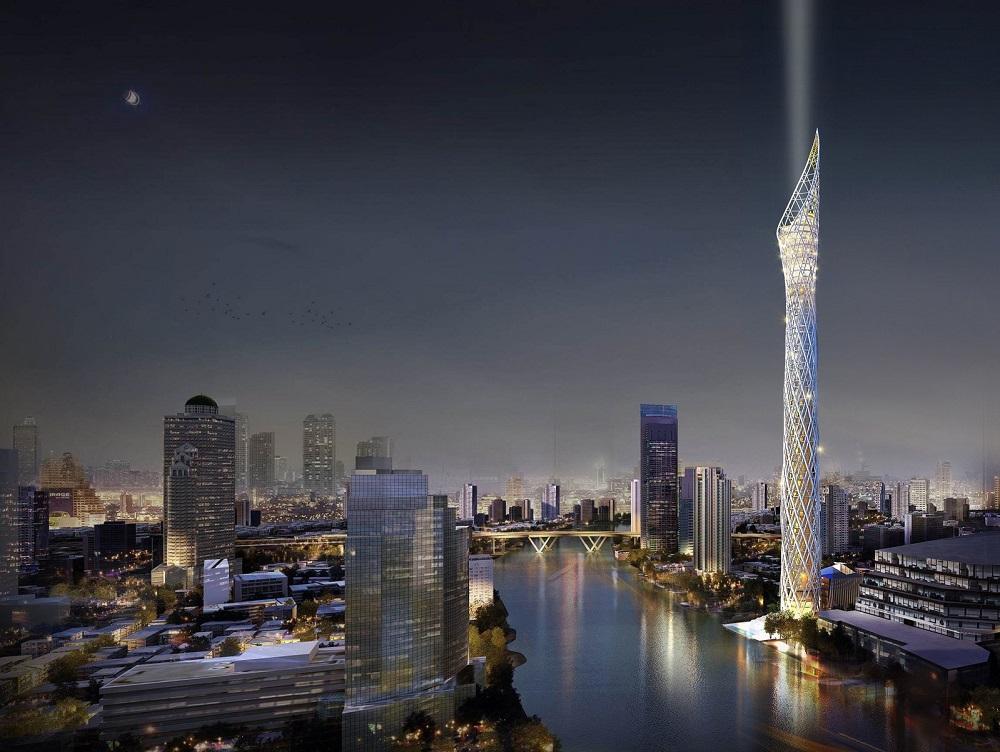 برج 459 متری در بانکوک