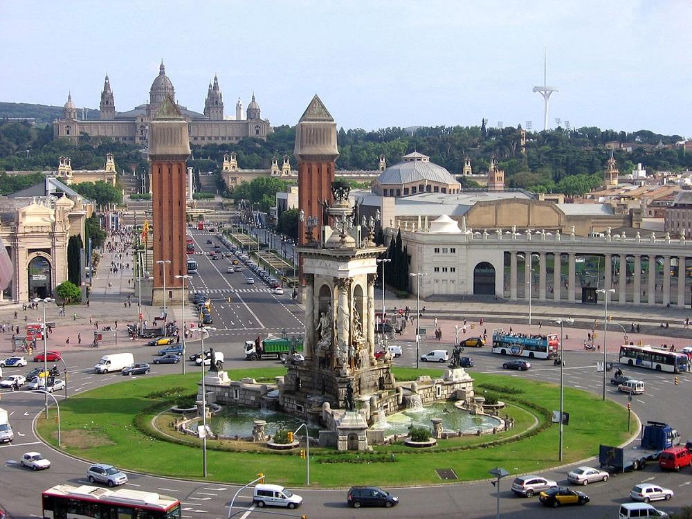 آب نمای جادویی بارسلونا