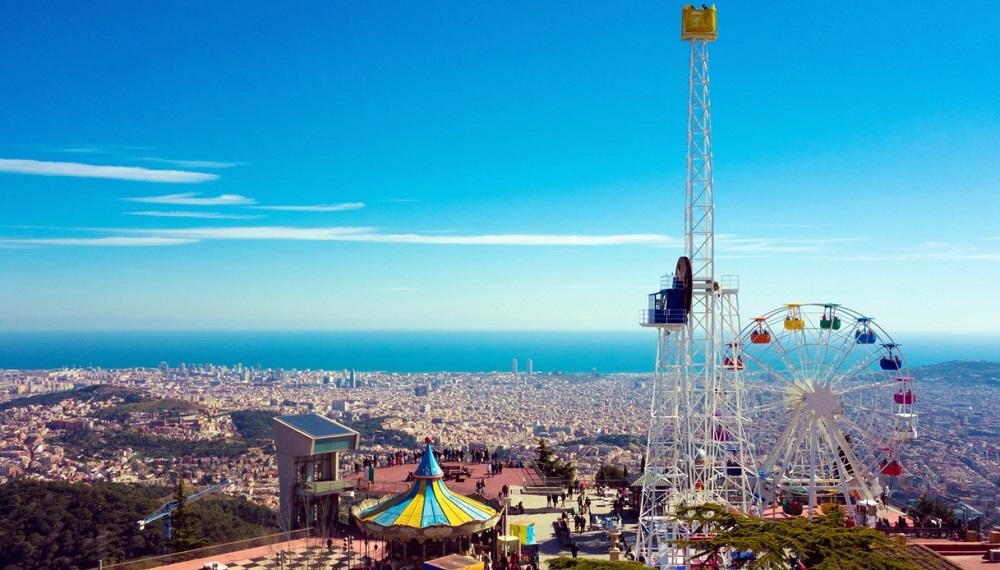 کوه تیبیدابو در بارسلونا