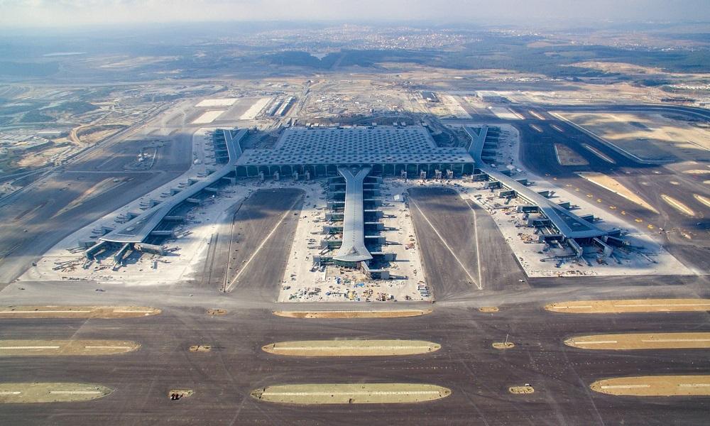 فرودگاه جدید استانبول در قسمت اروپایی
