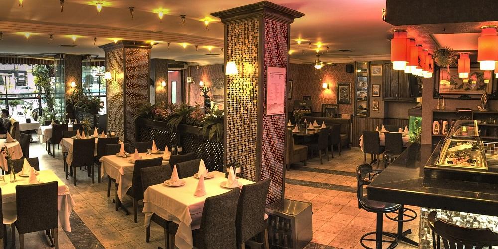 رستوران های منطقه لاله لی