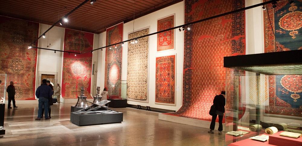 مجموعه های مختلف و آثار با ارزش موزه هنرهای اسلامی و ترکی