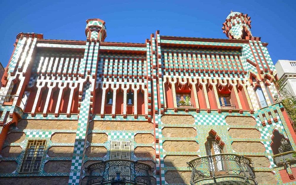 خانه کازا ویسنس بارسلونا