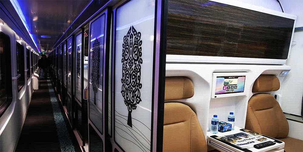 انواع مختلف قطار تهران مشهد