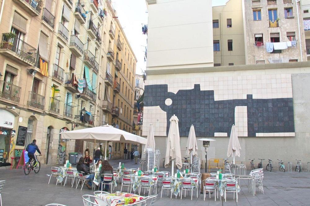 مراکز خرید محله ال راوال بارسلونا