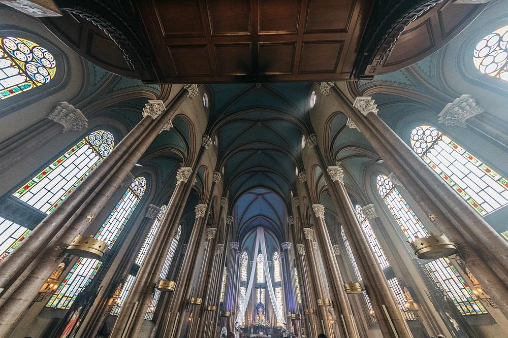 معماری کلیسای سنت آنتونی پادوا استانبول