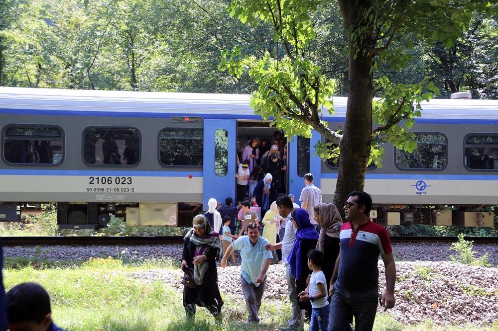 مسافرت گروهی با قطارهای بین المللی