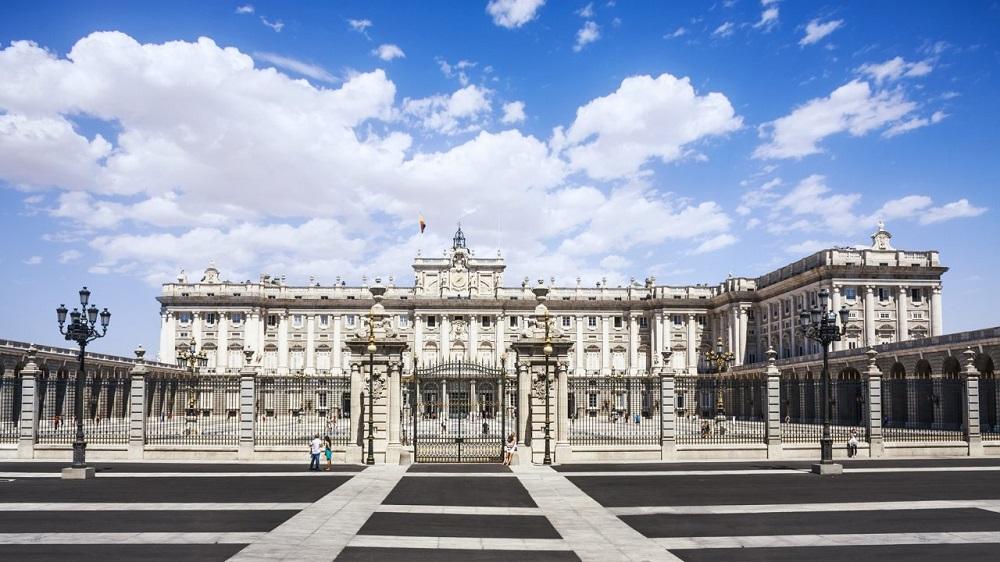 نمای اصلی زیبای کاخ