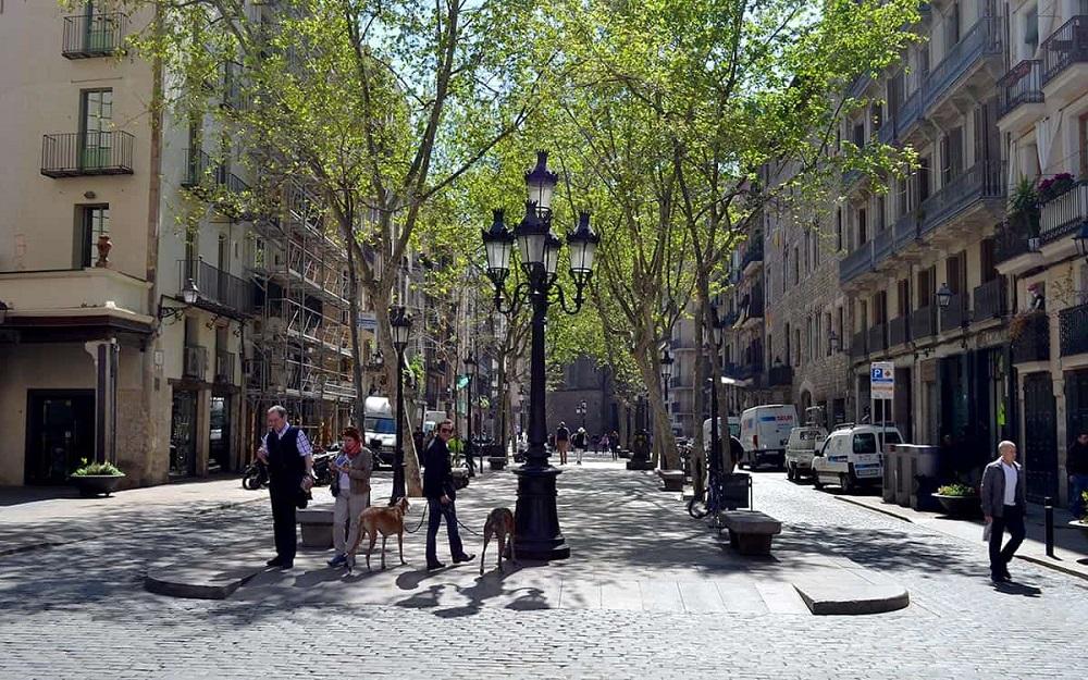 خیابان پسج دل بورن بارسلونا