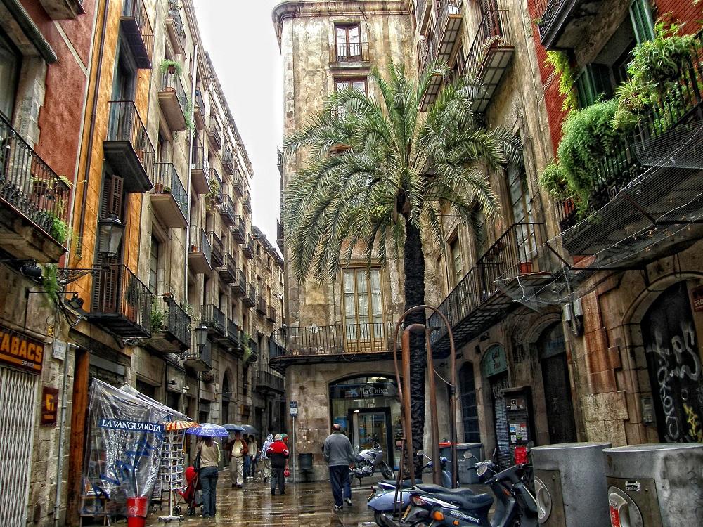 خیابان کرر د مونتکادا بارسلونا
